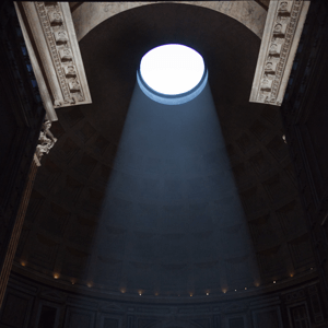 Light at the Pantheon