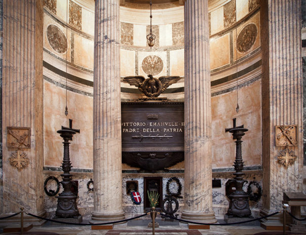 Tomba Vittorio Emanuele II nel Pantheon