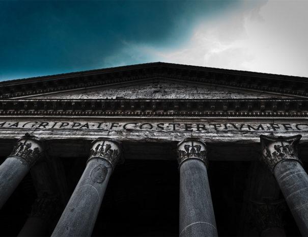 Pantheon iscrizione