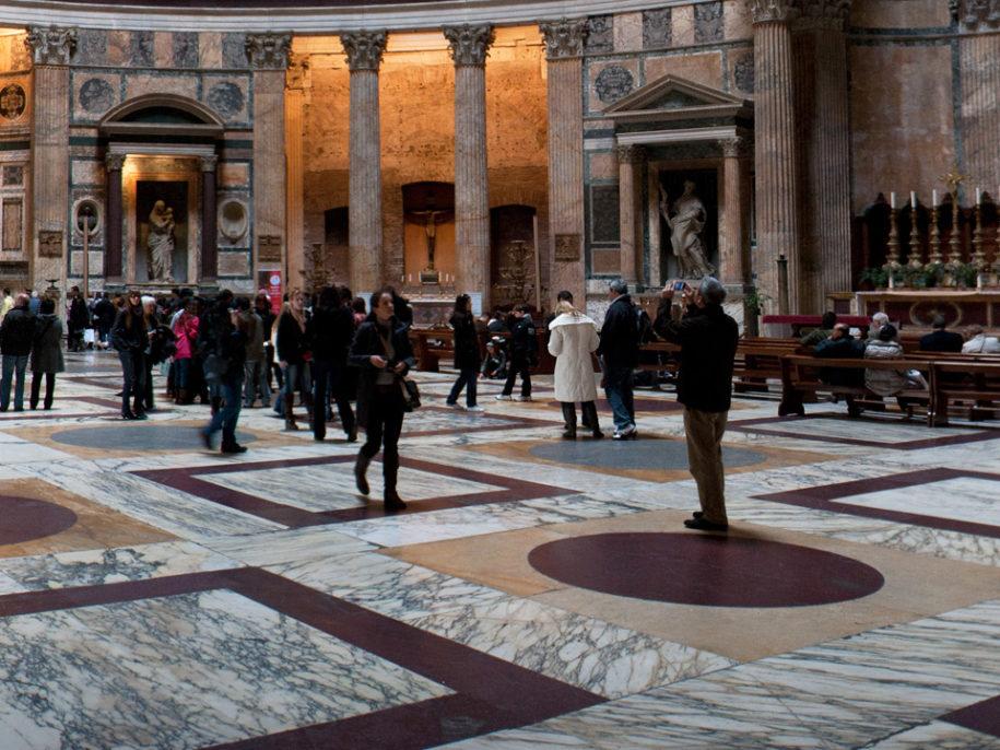 Interno Pantheon Roma