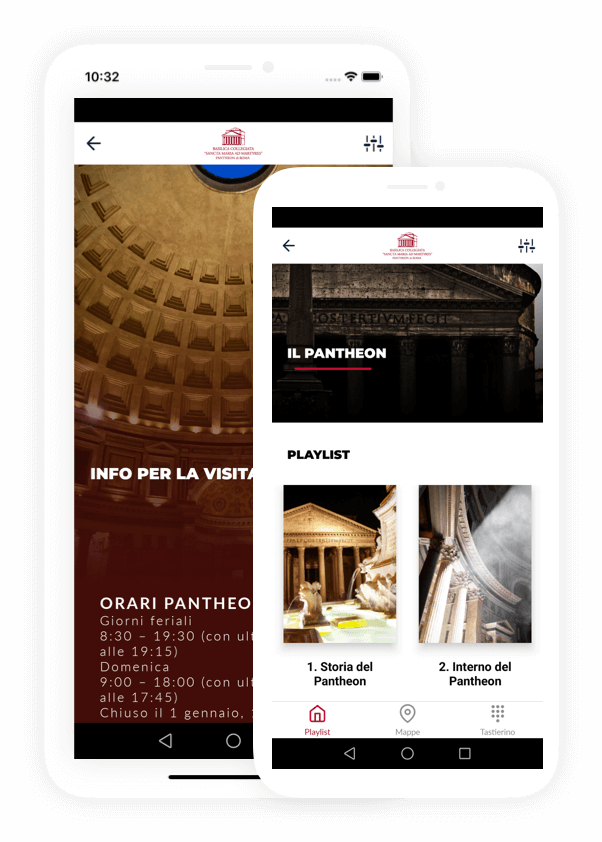 Mobile app Pantheon