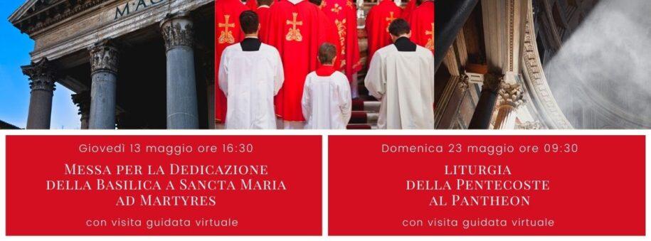Eventi dirette Maggio 2021 - Pantheon Roma