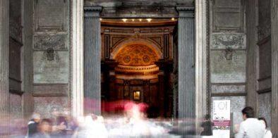 ingresso pantheon roma
